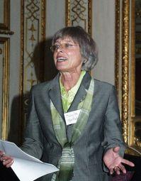 Margit Gürtler, damals Vereinsvorsitzende